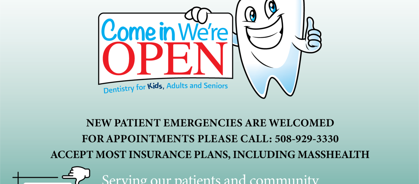 We are OPEN for dental emergencies!